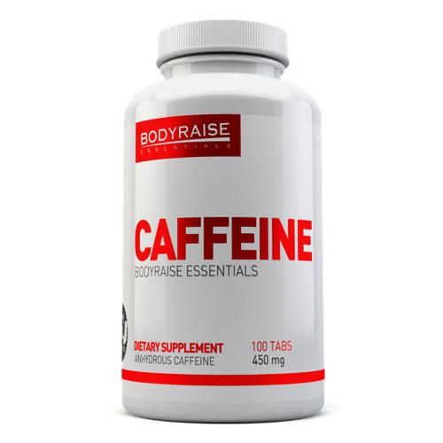 CAFFEINE 450MG 100TABS - BODYRAISE