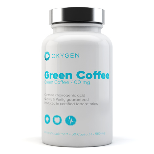 GREEN COFFEE 60TABS - OKYGEN