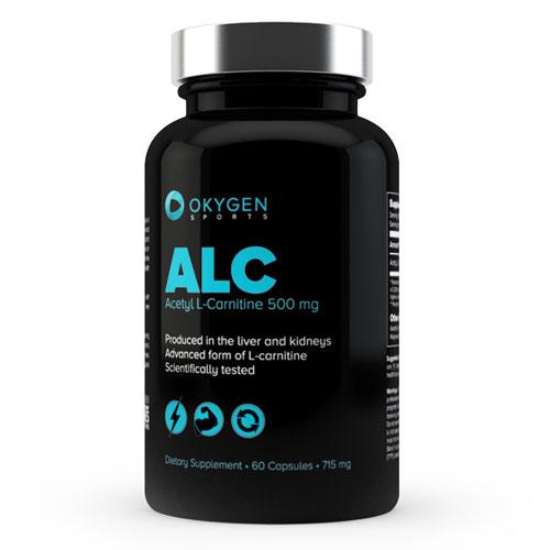 ALC ACETYL L-CARNITINE 60CAPS - OKYGEN