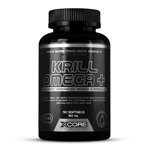 KRILL OMEGA+ 90CAPS - XCORE