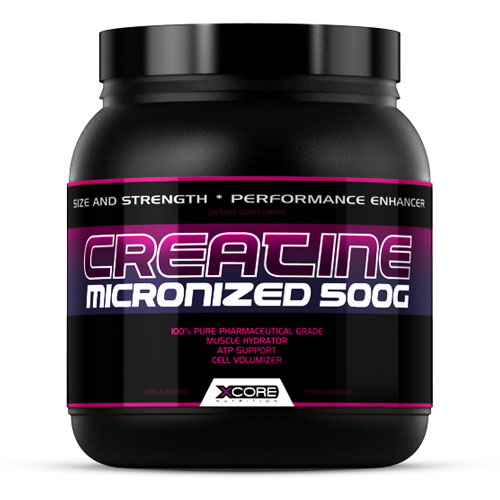 CREATINE MICRONIZED 500GR - XCORE