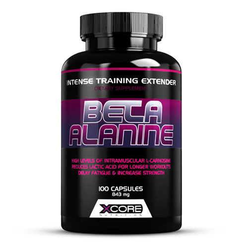 BETA ALANINE 100CAPS - XCORE