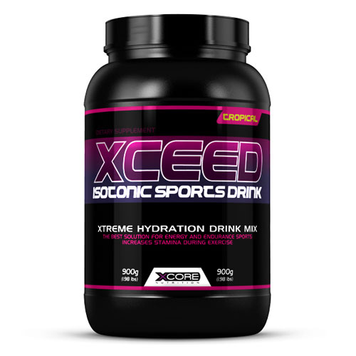 XCEED ISOTONIC SPORTS DRINK 900GR - XCORE