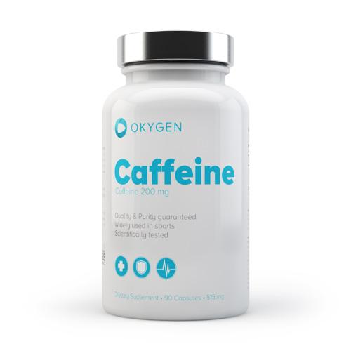 CAFFEINE 200 90CAPS - OKYGEN