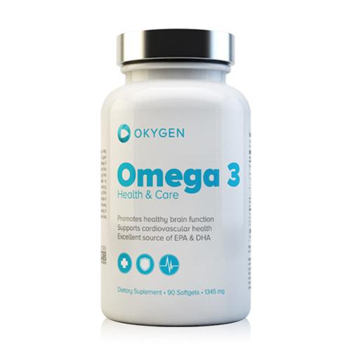 OMEGA 3 1000 90CAPS - OKYGEN