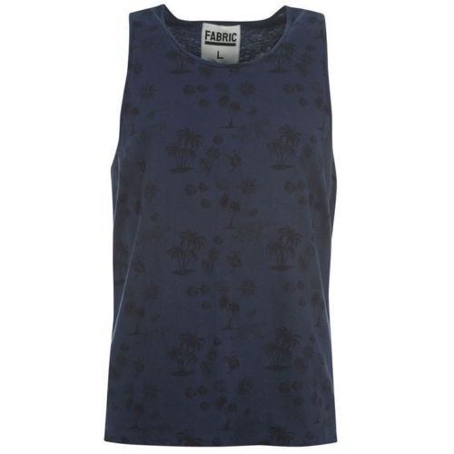 FABRIC VEST - TROPICAL SIZE-S