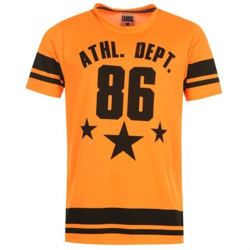 FABRIC MENS NEON ATHL.DEPT. SIZE-M