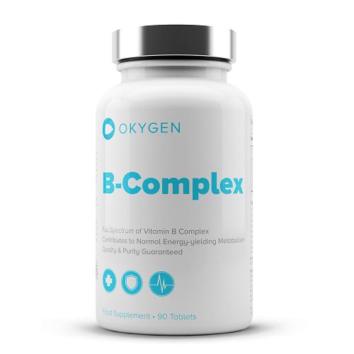 B COMPLEX 90TABS - OKYGEN
