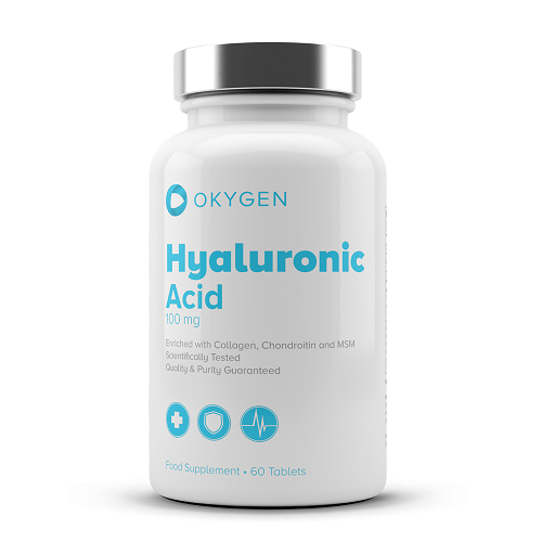 HYALURONIC ACID 60TABS - OKYGEN