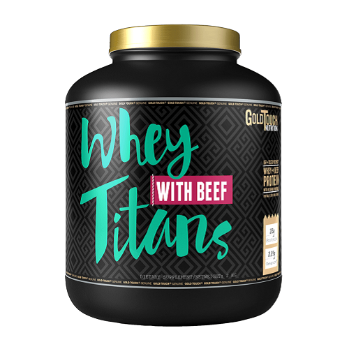 WHEY TITANS BEEF 2000GR - GOLD TOUCH