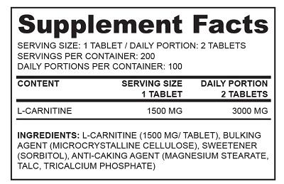 DIY RTG L-carnitine sf 2