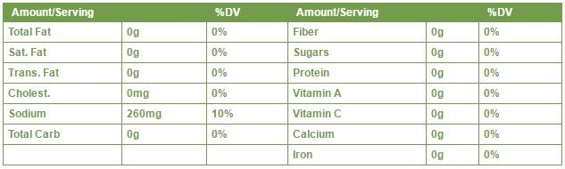 SUPER FRUITS BALSAMIC VINAIGRETTE 355ml facts