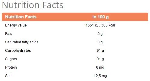dextrose 1000 FACTS2