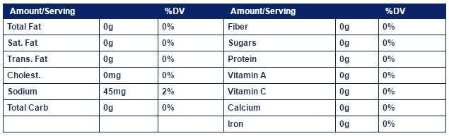 walden-farms syrup-12-oz-355ml 2 FACTS